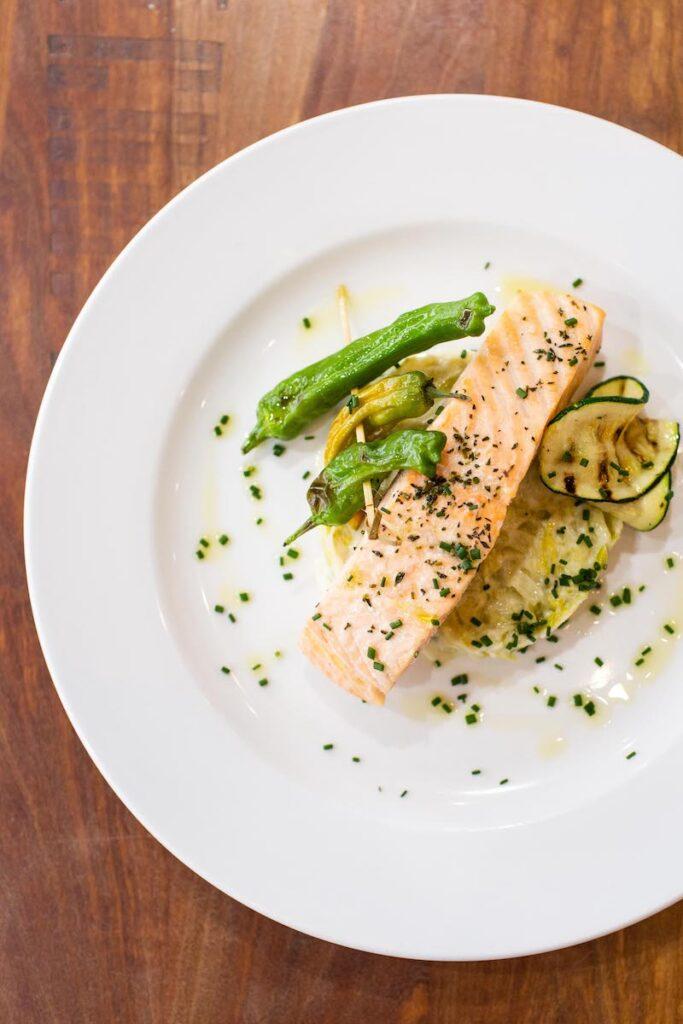 saumon-légumes-plat-Le comptoir